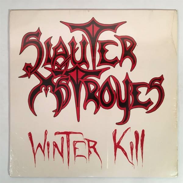SLAUTER XSTROYES Winter Kill Private Chicago Metal 1985 OG SEALED LP