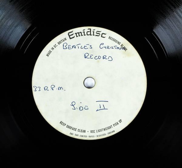 The Beatles Christmas Record   Unique   Genuine UK  EMIDISC LP ACETATE  1963  67