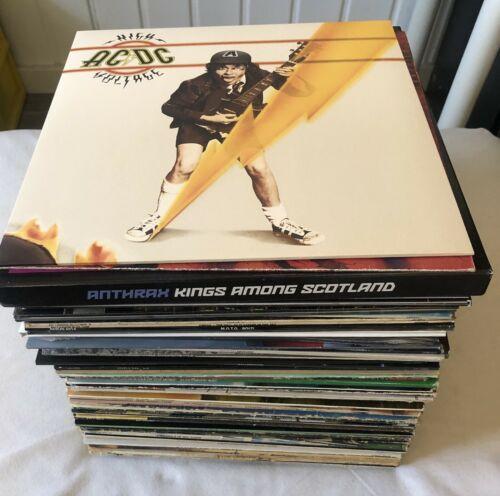 Sammlung Vinyl   LP Heavy Metal  Hard Rock   Rock  Krautrock  Punk  70stk  12   LP