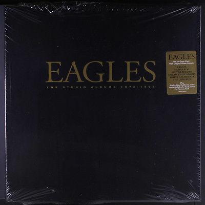 EAGLES  The Studio Albums 1972 1979 LP Sealed  6 LP box set  inner covers  titl