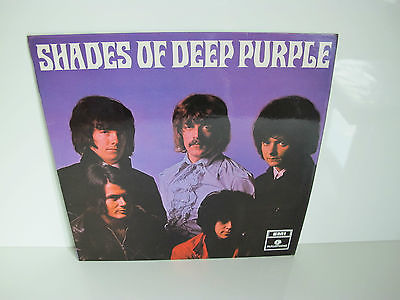 SHADES Of DEEP Purple Uk LP 1968  1st Pressing PCS 7055  Stunning LP