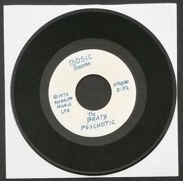Berlin Brats                 Psychotic   Tropically Hot 1976  US  7  Single  RARE HARDCORE