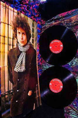 M 1967 Orig 2LP BOB DYLAN  BLONDE ON BLONDE Folk psych VISONARY MASTERPIECE