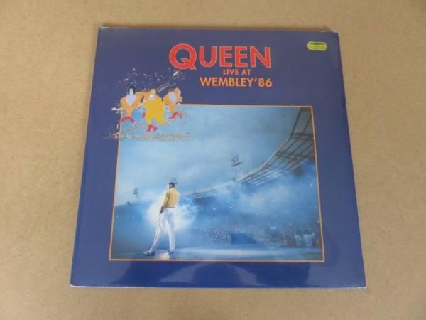 QUEEN Live At Wembley 86 VERY RARE 1992 ORIGINAL UK 1ST PRESSING 2 x LP SEALED