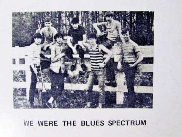 ULTRA RARE  68 PRIVATE LP THE BLUES SPECTRUM   PRIMITIVE RAW CRUDE GARAGE Psych