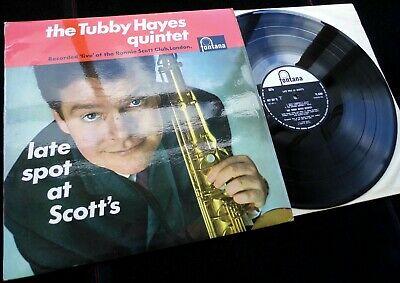 The Tubby Hayes Quintet   Late Spot At Scott s   Original UK Fontana Mono LP