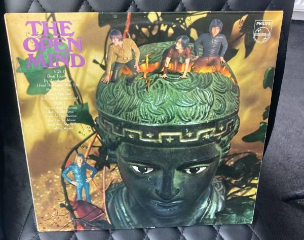 THE OPEN MIND UK PHILIPS SBL 7893 STEREO 1969 VINYL LP ORIGINAL PSYCH