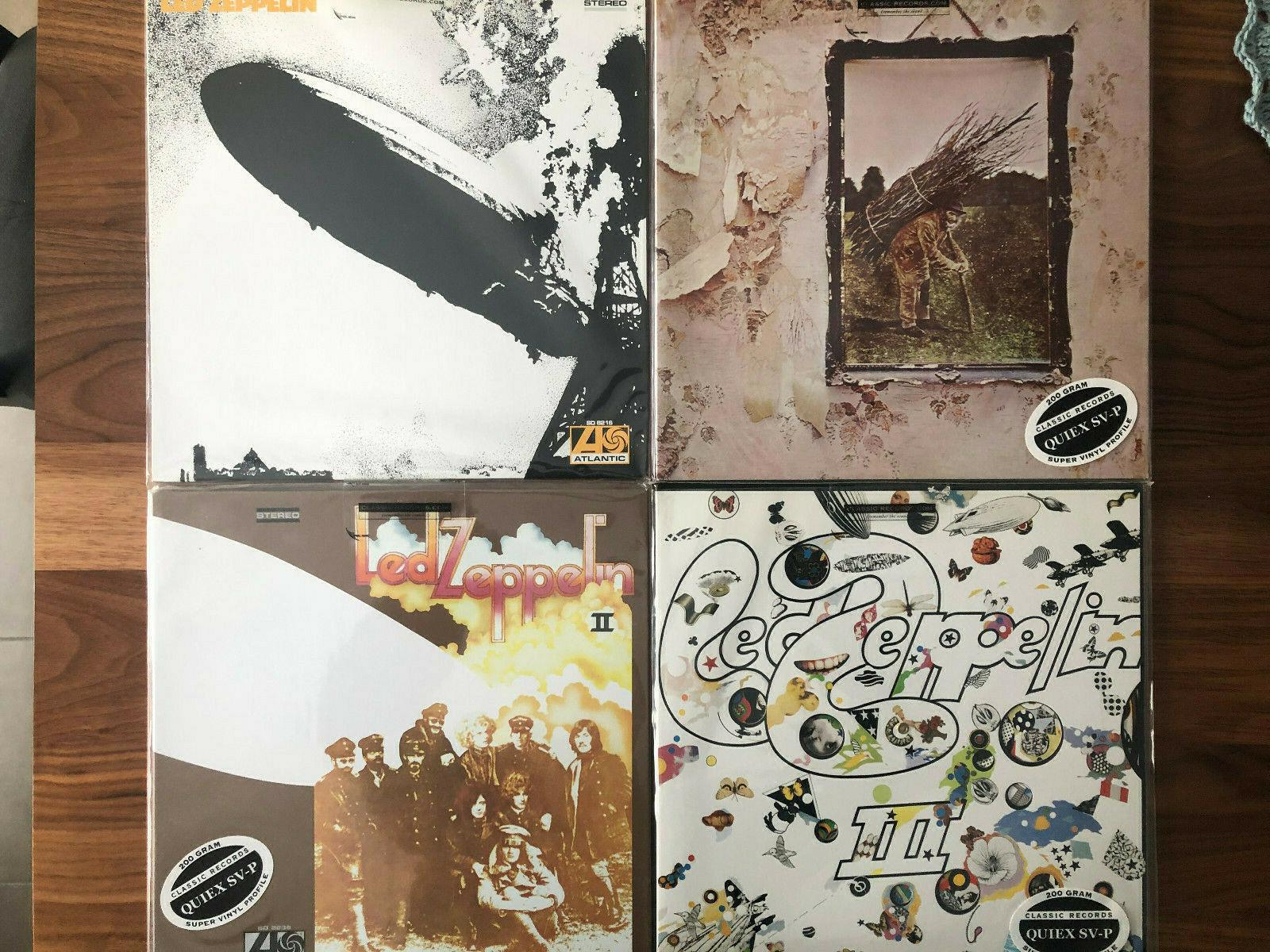 Classic Records Led Zeppelin LP Records   200 gram