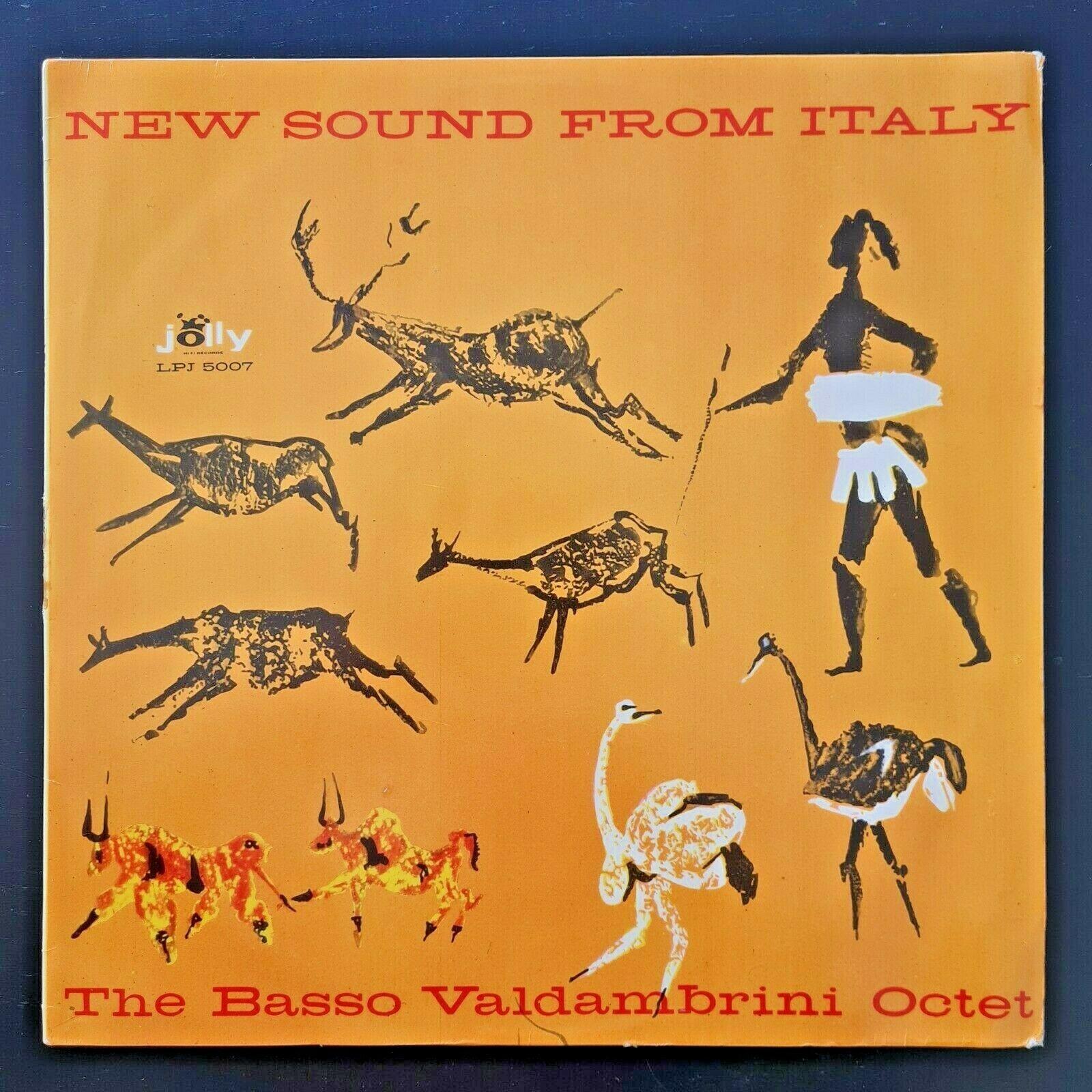 BASSO VALDAMBRINI OCTET   NEW SOUND FROM ITALY LP og  1960 JOLLY 1st MONO press