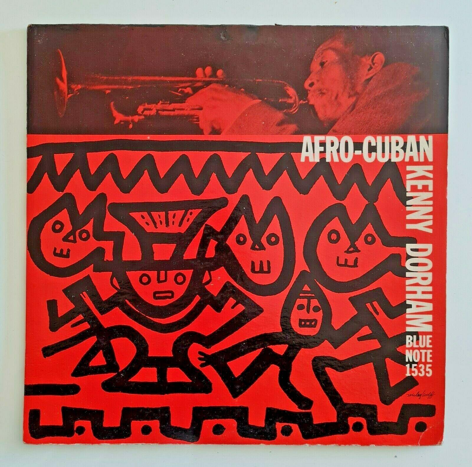KENNY DORHAM   AFRO CUBAN LP og  BLUE NOTE 1535 RVG MONO  P  EAR DG 1st Press NM