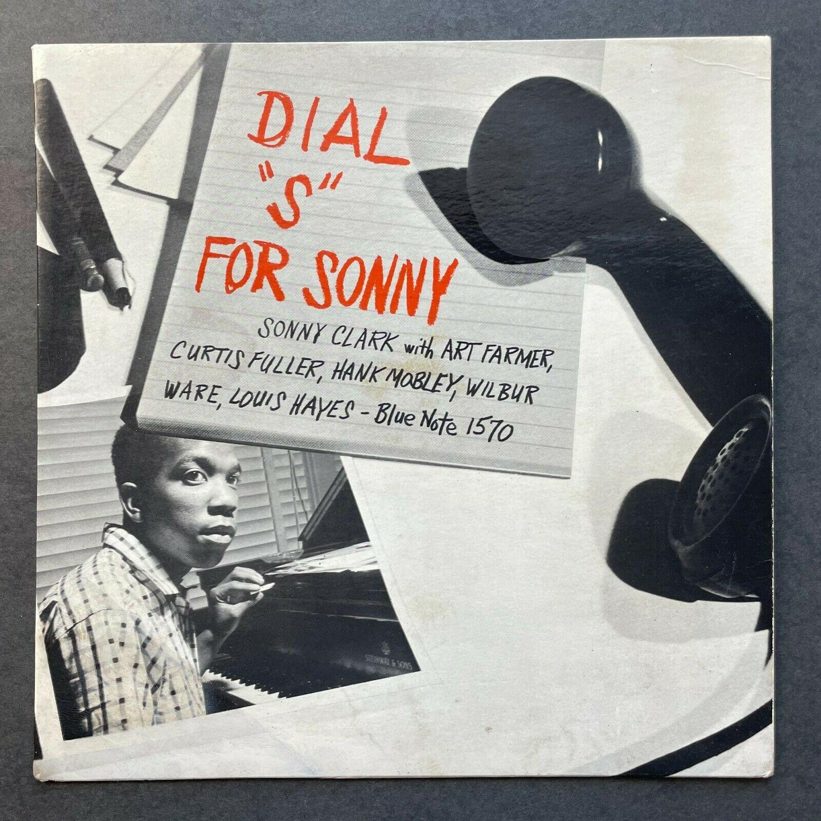 SONNY CLARK Dial  S  for Sonny BLUE NOTE LP 1570 Mono DG Ear RVG w63 No Inc 1st