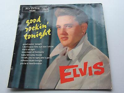 ELVIS PRESLEY  ORIGINAL  1963 FRENCH 10  LP GOOD ROCKIN TONIGHT