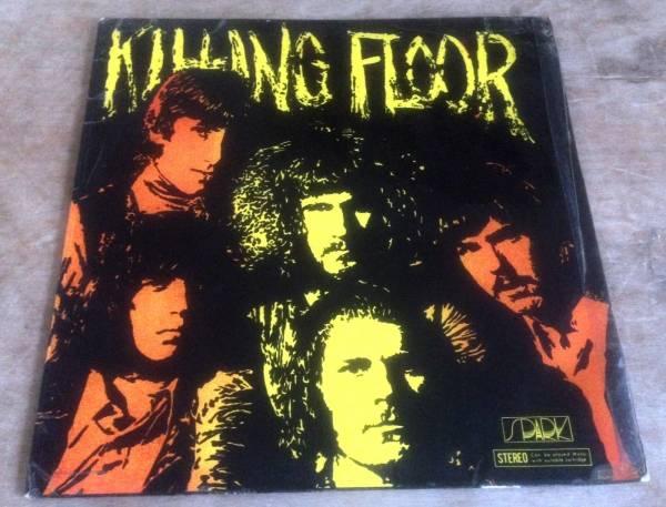 KILLING FLOOR self titled 1969 UK BLUE SILVER RARE PROG BLUES STEREO VINYL LP