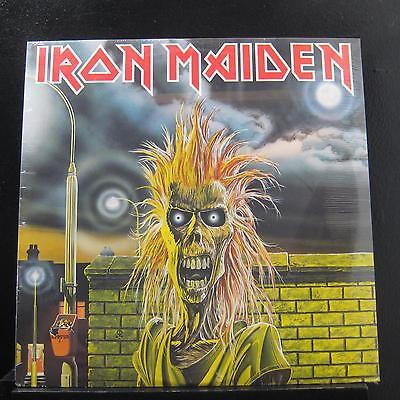 Iron Maiden   Iron Maiden LP New Sealed ST 12094 Harvest 1980 USA Vinyl Record