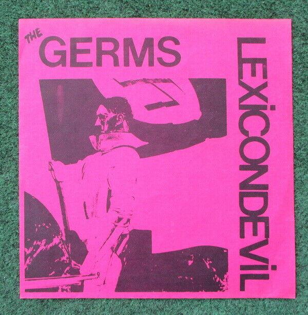 GERMS 7  Lexicon Devil 1978 MISFITS superclean FIRST US PRESSING punk SLASH REC