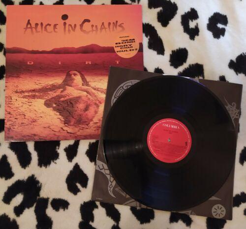 Alice In Chains   Dirt LP Vinyl 1992 COLUMBIA Europe Grunge