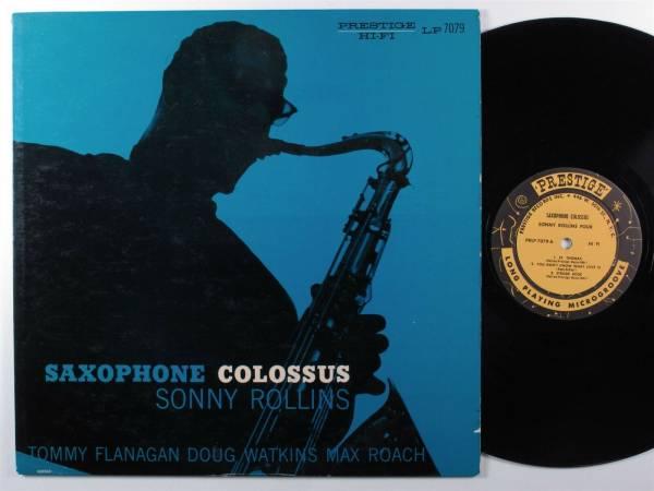 SONNY ROLLINS Saxophone Colossus PRESTIGE LP VG  mono w 50th deep groove