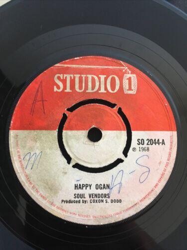 Soul Vendors   Invaders   Happy Ogan   Soulful music 7    Rare Studio One  SO 2044