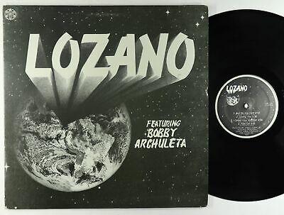 Lozano ft  Bobby Archuleta   S T LP   Rare Private Modern Soul Funk