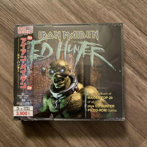 IRON MAIDEN 2CD Game Ed Hunter Remaster 2006 Japan TOCP 53773 4 OBI Still Sealed