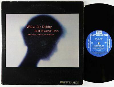Bill Evans Trio   Waltz For Debby LP   Riverside   RLP 399 Mono DG