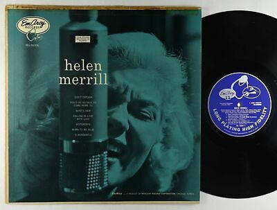 Helen Merrill   S T LP   EmArcy   MG 36006 Mono DG VG