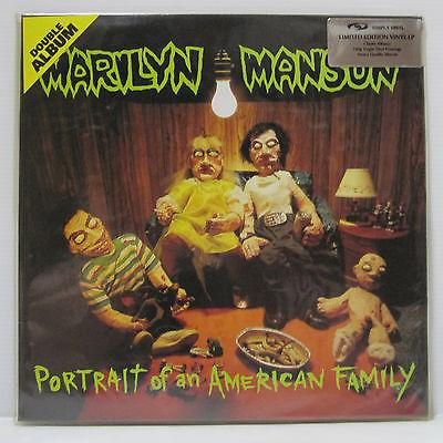 Marilyn Manson   Portrait of American Family 2LP 1994 UK ORIG 180g Simply Vinyl