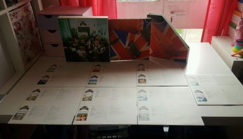Oasis The Masterplan Rare original UK vinyl 7       10  LP Box set limited edition