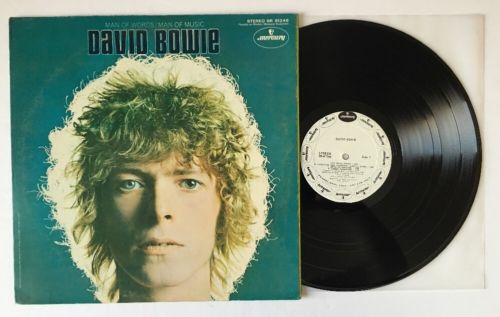 David Bowie  Man Of Words Man Of Music   White Label Promo LP SR61246 NM