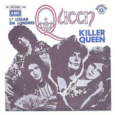 QUEEN   KILLER QUEEN   SUPER RARE PICTURE SLEEVE 7 45 ANGOLA EMI 1974 N MINT