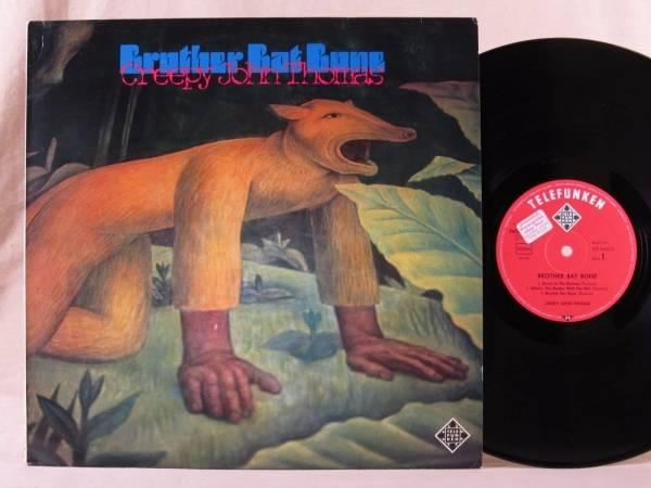 CREEPY JOHN THOMAS Brother Bat Bone KILLER 1970 HEAVY BLUES PSYCH LP Hear It