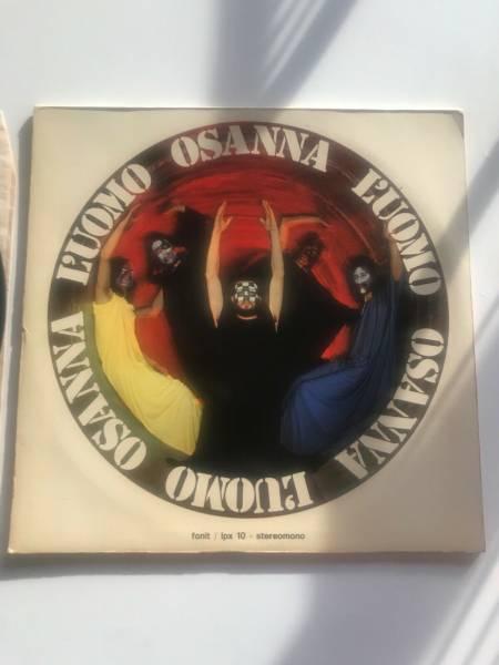 LP 33 giri Osanna L   uomo prima stampa originale 1971 prog rock