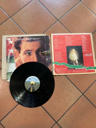 VASCO ROSSI NON SIAMO MICA GLI AMERICANI LP 1979   INNER COME DA FOTO  raro
