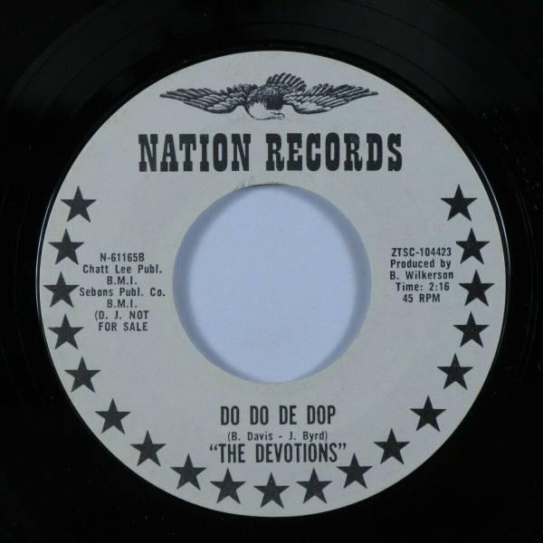 Northern Soul 45 DEVOTIONS Do Do De Dop NATION VG  VG   promo HEAR