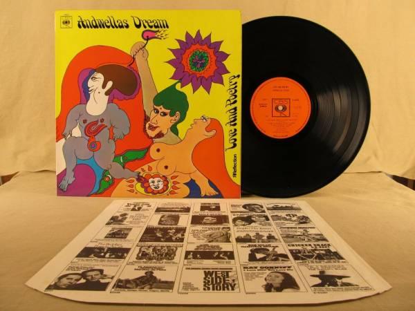 ANDWELLAS DREAM 1969 UK Prog Folk MOD PSYCH Phasing LP Ireland TOP COPY Hear It