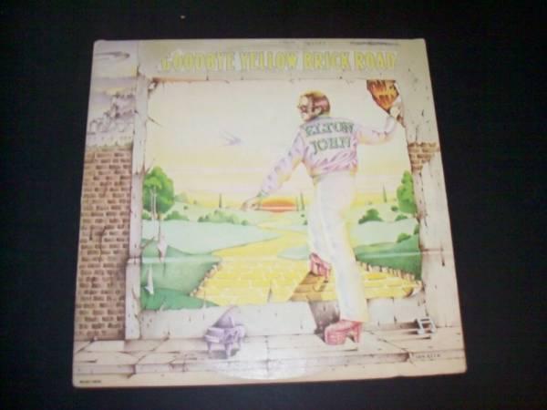LP RECORD ALBUM ELTON JOHN GOODBYE YELLOW BRICK ROAD