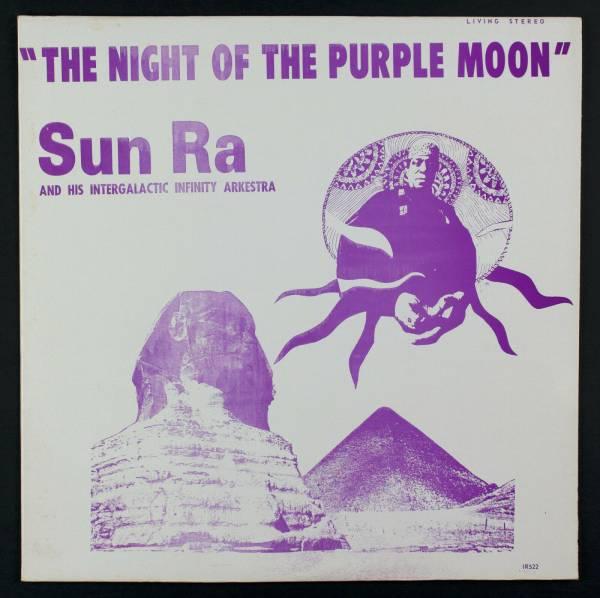 SUN RA Night Of The Purple Moon LP El Saturn 522 Rare Cosmic Jazz Original M