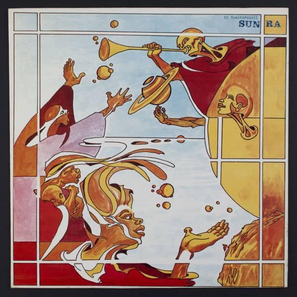 SUN RA Discipline 27 II LP El Saturn 538 Rare Original Cosmic Jazz M