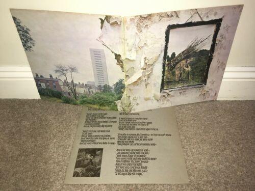 LED ZEPPELIN Led Zep 4 LP Atlantic 1971 UK Original  A1 B1 MATRIXES