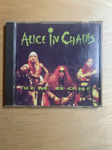 Alice In Chains Them Bones CD Single Signed Autographed Original Members