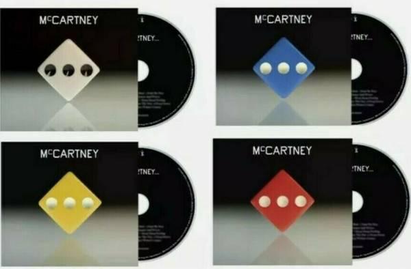 Paul Mccartney iii Deluxe 4 CD each with bonus demo track  Red Green Yellow Blue