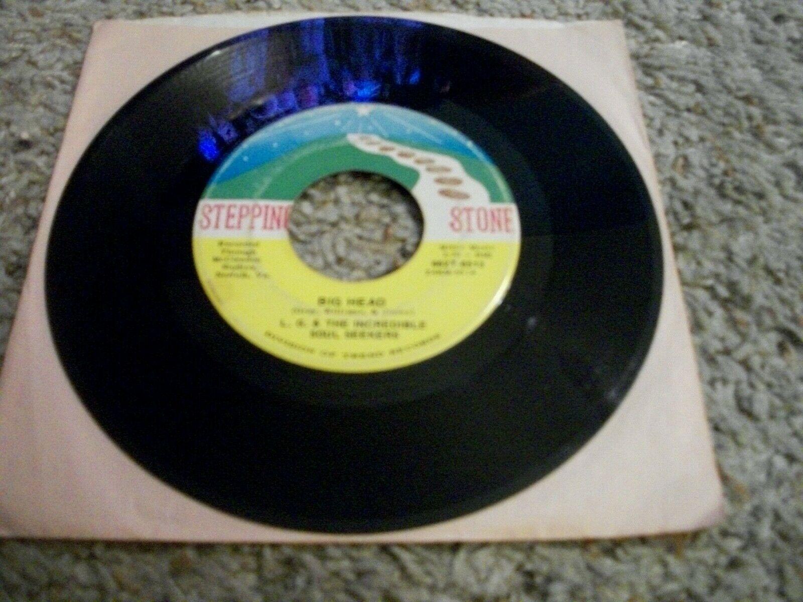 L G   The Incredible Soul Seekers 45 Big Head   Craw Finger Soul 1970 Rare VG