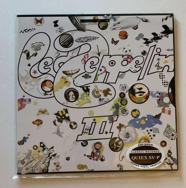 CLASSIC RECORDS   200 gram Led Zeppelin III VINYL LP   FACTORY SEALED QUIEX SV P
