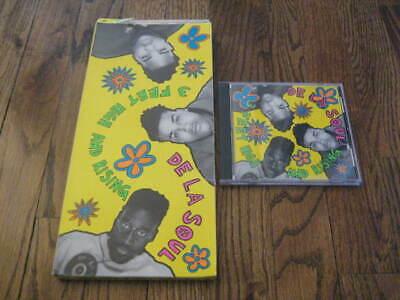 De La Soul 3 Feet High and Rising  longbox and Original cd   Rare