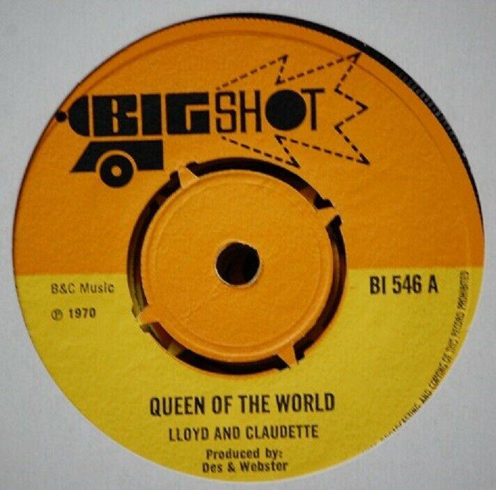 7    Skinhead Reggae     BIG SHOT     1970     Queen of the world