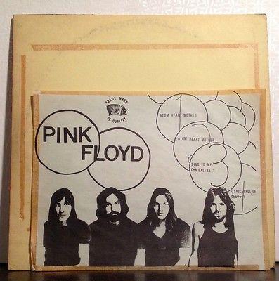 Pink Floyd Live 1970 Cymbaline 2 LP Set EX vinyl TMOQ Red   Blue Vinyl Pig Label
