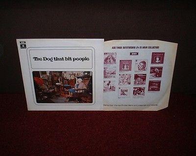 THE DOG THAT BIT PEOPLE 1st LP 1971 PARLOPHONE 1st Press  MINT   1 PLAY