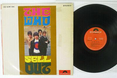 THE WHO LOVE OF THE MAGIC EYE SLPM 1394 Japan VINYL LP