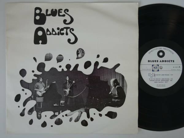 BLUES ADDICTS   HOLY GRAIL  orig  LP heavy danish acid psych prog Spectator HEAR