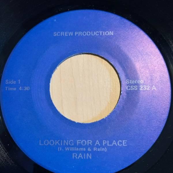 Modern Soul Stepper Funk 45 RAIN looking for a place SCREW listen